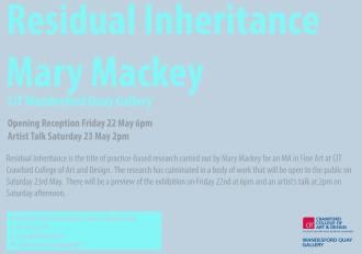 'Residual Inheritance' Mary Mackey